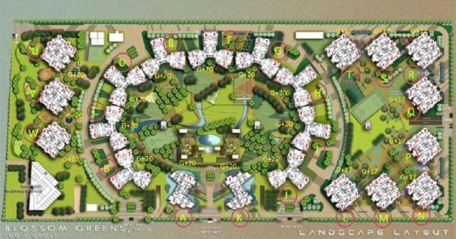 Blossom Greens Master Plan